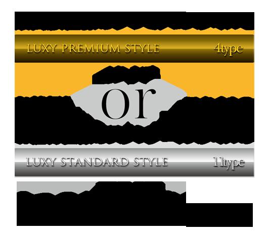 最高級仕様のプレミアムスタイルを4タイプと、お値打ち仕様のスタンダードスタイルを11タイプ。2つのグレードをご用意